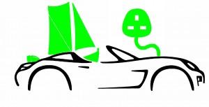 hq car logo EV